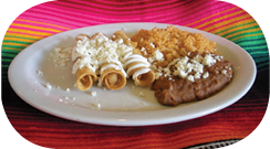Kid's Taguito Plate Arroyo's Cafe Stockton, CA