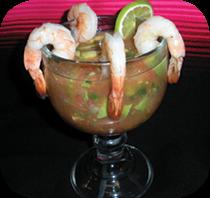 Shrimp Cocktail Arroy's Cafe Stockton, CA