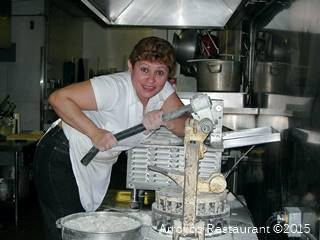 Arroyo Cafe of Stockton makes fresh tortillas the old fashion way, every day! image